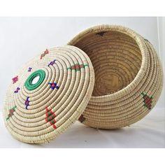 Image of Pashtun Lidded Basket