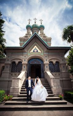 Orthodox church-and wedding in Florence (Italy)