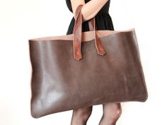 Bourbon Rust Travel Tote / $288.00
