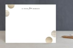Gilded Confetti by Stacey Meacham at minted.com