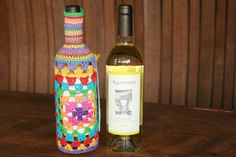 Exhibition piece by Sharleen Greer Cozy, Wine, Bottle, Crochet, Home Decor, Decoration Home, Room Decor, Flask, Ganchillo