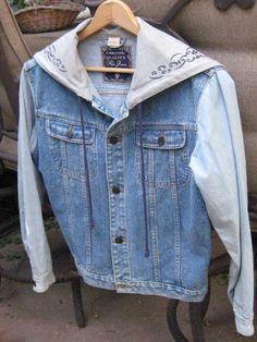 FLASH SALE  Vintage Light Color Denim Jacket   by PrettyOnYou