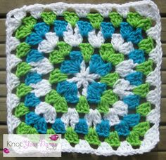 Knot Your Nana's Crochet: Granny Square CAL (Week 22)
