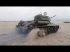 Rewitalizacja czołgu T34/85 - YouTube Office Meeting, The Office, T 34 85, Jerusalem, Military Vehicles, Blessed, Earth, Create, World