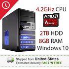 Gaming Computer Desktop PC System - 4.2GHz CPU - 2TB HDD - 8GB RAM - New in Box
