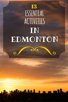 Things to do in Edmonton: Everything you need to know for visiting Edmonton, Alberta, including what to do, where to eat, and where to stay! Canada Eh, Visit Canada, Travel With Kids, Family Travel, Edmonton Hotels, Alberta Travel, Canada Destinations, University Of Alberta, Canada Travel