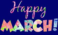 So excited that's it's finally March! Always one of my favorite months of year, with SPRING just around the corner :) Happy March, Hello March, Days And Months, Months In A Year, 12 Months, March Pisces, New Month Wishes, New Month Quotes, Birthday Month
