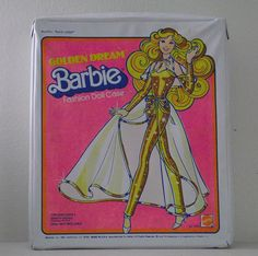This one was mine, you kept barbies clothes inside