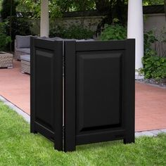 Zippity Outdoor Products 4 ft. H x 3 ft. W Huntersville Privacy Screen   Wayfair Diy Privacy Screen, Privacy Panels, Garden Fence Panels, Garden Privacy, Vinyl Railing, Artificial Hedges, Screen Enclosures, Air Conditioning Units, Resin Uses