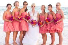 Bridal Parties Wedding Bridesmaids Photos on WeddingWire
