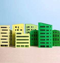 buildings! paper