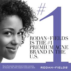 According to the American Academy of Dermatology, #acne is the most common skin condition in the United States---affecting up to 50 million Americans every year. When it comes to treating it, Rodan + Fields is at the very top of its category among premium brands.* When you consider the fact that 81 percent of #UNBLEMISH users are extremely or very satisfied with their Regimen, it's no surprise.** Help friends, family and prospective Customers and Consultants kick stubborn acne to the curb…