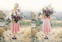 flower arrangements by Bunch Studio