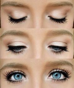 YOUNIQUE Neutral Smoky eye- Glorious primer (all over), Innocent (brow bone), Beautiful (crease), Vulnerable (lid and crease), Curious (inner corner), Devious (wet as liner). top with 3D lashes! Loveable on the lips!. Order yours at www.merislashes.com
