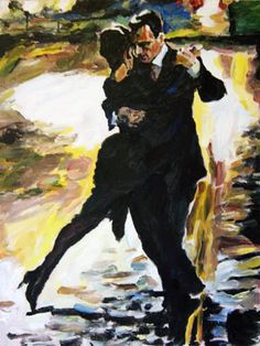 2011 Tango en Passion painting for sale, this painting is available as handmade reproduction. Shop for 2011 Tango en Passion painting and frame at a discount of off. Artist Painting, Figure Painting, Tango Art, Tango Dancers, Dance Paintings, Partner Dance, Argentine Tango, Shall We Dance, Wow Art