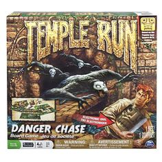 Temple Run Danger Chase Board Game Spin Master Game