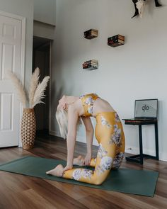 Ready to slay your Monday? Start your Glo membership today. Pilates Workout, Exercise, Yoga Terms, Online Yoga, White Aesthetic, Body Image, Yoga Meditation, Workout Videos, Yoga Fitness
