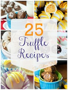25 Truffle Recipes from Six Sisters' Stuff - These are perfect for the fall weather that is approaching fast!