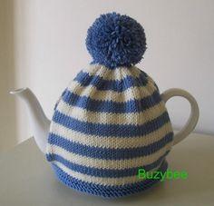 Knitting: 'Cornish' Tea Cosy