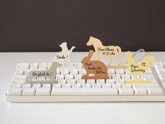 Tiere - Tier Memo Pad Set – Haustiere by maplepaper bei DaWanda