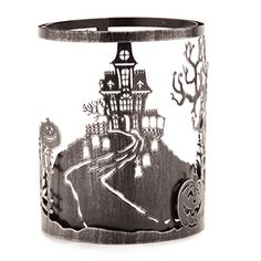 Haunt Scentsy Warmer Wrap $15 The detail draws you in. And the creepy cemetery scape — brought to life with a spooky, moonlit glow — will instill plenty of chills come Halloween night.