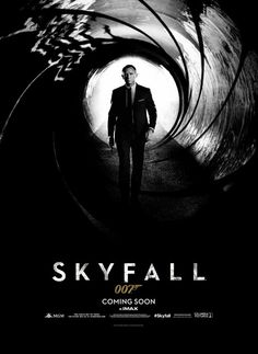 SKYFALL - James Bond poster