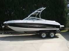 21 feet  2008 Chaparral 204SSI Bowrider , Black & White, 62 hours for sale in Anderson, SC