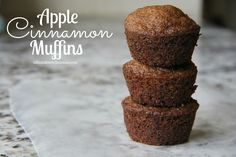 Apple Cinnamon Muffins. Everyone needs a recipe for Apple Cinnamon Muffins, right? These moist little...