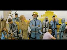 The Life Aquatic with Steve Zissou (trailer) you'll love if you loved THE ROYAL TENNENBAUMS and a GREAT soundtrack!