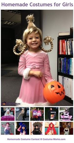 Homemade Costumes for Girls - this website has tons of DIY costume ideas!