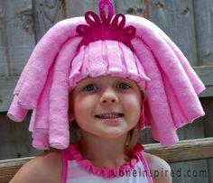 Part 1 of Lalaloopsy costume - DIY Lalaloopsy Wig