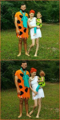 our family halloween costume diy halloween costume the flintstones halloween - Flinstones Halloween