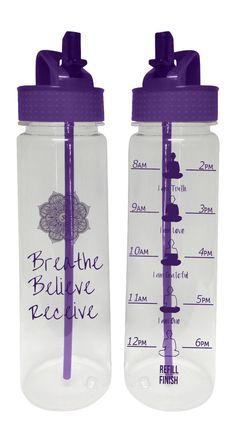 AquaMotiv Affirmation Quote Motivational  'Breathe by HolaPenelope