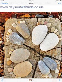 Stone family feet