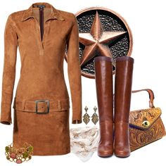 """""""Warm Browns for Fall"""" by girlyideas on Polyvore"""