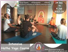 #Divine_Space_Yoga #200HRS_TTC #300HRS_TTC #Ayurvedic_Yoga_Retreat #Detoxification_Retreat #Yoga_TTC_in_Rishikesh #Intensive_Hatha_Yoga_Course  #10_Days_Intensive_Yoga_Training.  Find out more on: www.divinespaceyoga.com  Mail us: Divinespaceyog@gmail.com NOTE : Opening Ceremony with Hawan and Pooja 25th December Our Divine space Annual ceremony Finishing ceremony with certification