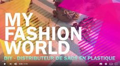 Myfashionworld.fr | DIY distributeur de sacs plastique | http://www.myfashionworld.fr