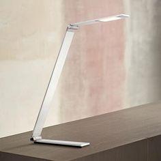 Possini Euro Strauss Aluminum LED Desk Lamp   Lamps Plus $130