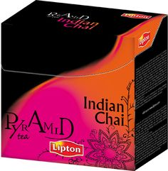 Lipton pyramid Indian Chai -indipendent project-
