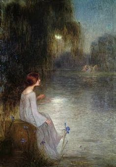 Daydream (1898) - Juan Brull Vinyoles One of my favorites paintings when I was only a child. Magic!!!