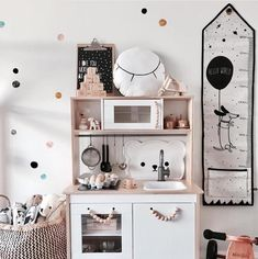 Check out 24 of our favorite toddler girl playroom ideas, and learn how to organize your kids' playroom so they'll actually use it. Wall Decor Crafts, Kids Wall Decor, Home Decor, Princess Room Decor, Playroom Design, Playroom Ideas, Girl Room, Baby, Furniture