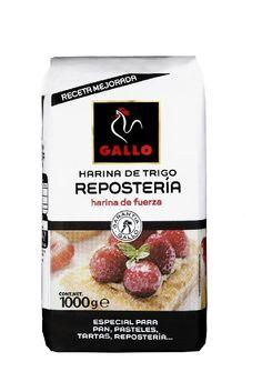 0,97€ - Gallo harina reposteria paquete 1000 gr. harina d fuerza especial para PAN TARTAS