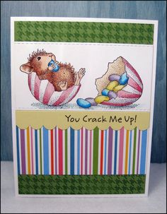 Handmade Easter Card by MasonJarCards on Etsy