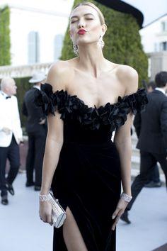 Best Dressed: Karlie Kloss in Marchesa at AmfAR Gala Cannes 2016.