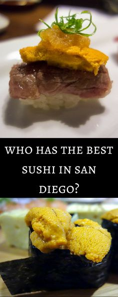 Himitsu vs. Sushi Ota: Who has the Best Sushi in San Diego? If you're looking for an amazing sushi experience, look no further. Both these spots are AMAZING!  san diego restaurants | foodie san diego | san diego sushi | san diego finest sushi | sushi ota | himitsu | fresh fish | san diego uni | best salmon belly | san diego sushi restaurants | best sushi san diego