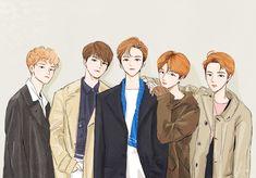 Nct 127, Boy Hair Drawing, Korean Boy Hairstyle, Moomin Wallpaper, Nct Dream Jaemin, Jisung Nct, Fan Art, Handsome Anime, First Art
