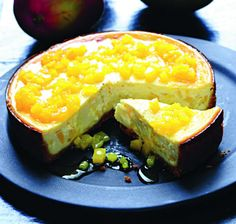 Despensa: Cheesecake de mango