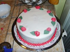 Mama szülinapi tortája 2011-ben