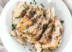 Recette facile de poulet rôti aux fines herbes!