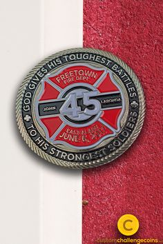 The history of the firefighter challenge coin as well as coin designs for inspiration is on our blog today!